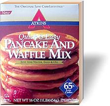 Atkins low carb baking mix