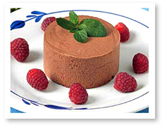 Home Bistro Low Carb Dark Chocolate Mousse