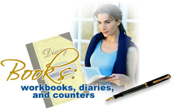 low carb luxury books workbooks diaries and counters. Black Bedroom Furniture Sets. Home Design Ideas