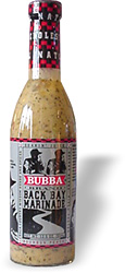 Bubba Brand Back Bay Marinade
