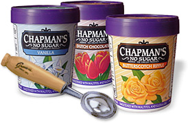 Low carb luxury product spotlight fresh or frozen treats chapmans ice cream ccuart Image collections