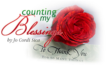 Counting My Blesssings by Jo Cordi Sica