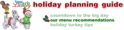 Christmas Area Menu Bar