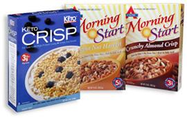 Low carb cereals