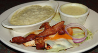 O'Charley's Bacon Cheese Chicken Trio
