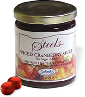 Steel's Gourmet Spiced Cranberry Sauce