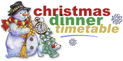 Countdown to Christmas Dinner